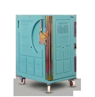 conteneur isotherme fermé