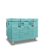 CONTAINER ISOTHERME OLIVO - BAC 320 FERME SUR PIEDS