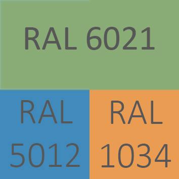 Varios colores disponibles a petición y bajo condición