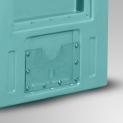 Embedded label holder