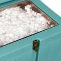 Depósito de hielo seco